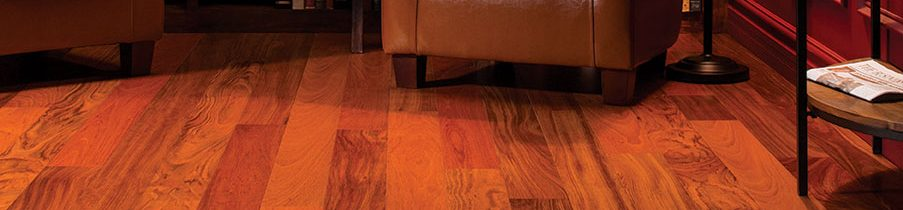 Wood Flooring - Brazilian Cherry Library 2015 - Eden Prairie, MN