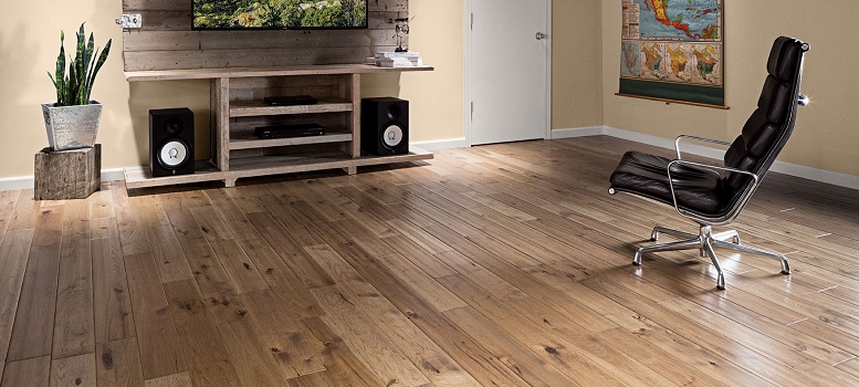 Wood Flooring - HICKORY_5 INCH_BURNISHED LEATHER_MATTE_CHARACTER_HANDSCRAPED - Eden Prairie, MN