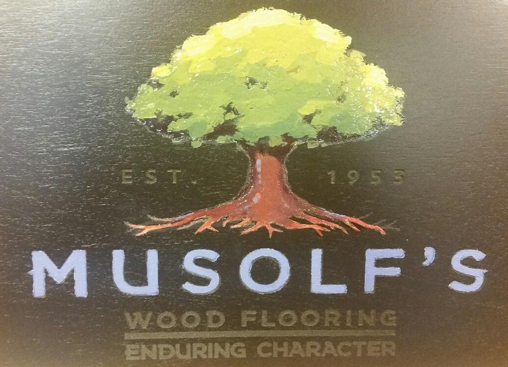 Wood Flooring - Musolf's Wood Flooring logo - Eden Prairie, MN